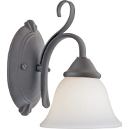 Boston Harbor F3-1W-3L 1 Light Matte Black Wall Sconce