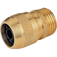 Landscapers Select GB8123-1(GB9210) Garden Hose Couplings Solid Brass HD 5/8 Male