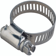 ProSource HCRSS20 Hose Clamp Stainless Steel With Stainless Steel Screw 1/2 Inch Band By 13/16 To 1-3/4 Inch Number 20