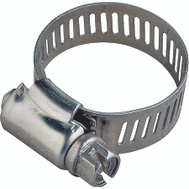 ProSource HCMAN04 Hose Clamp Stainless Steel With Carbon Steel Screw 5/16 Inch Band By 7/32 To 5/8 Inch Number 4