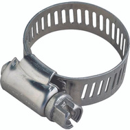 ProSource HCMSS08 Hose Clamp Stainless Steel With Stainless Steel Screw 5/16 Inch Band By 13/16 To 1-3/4 Inch Number 8