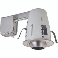 Boston Harbor RS2000RG+ TRIM405 4 Inch Brushed Nickel Recessed Light Fixture