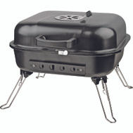 Omaha GY916 Table Top Square Grill Charcoal