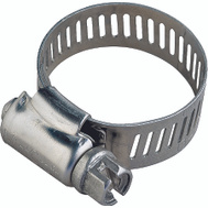 ProSource HCRSS08-3L Hose Clamp Stainless Steel With Stainless Steel Screw 1/2 Inch Band By 7/16 To 1 Inch Number 8