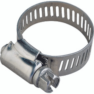 ProSource HCRAN06-3L Hose Clamp Stainless Steel With Carbon Steel Screw 1/2 Inch Band By 3/8 To 7/8 Inch Number 6