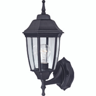 ProSource HL-018B-P- BK Boston Harbor Black Twin Pack Porch Light