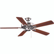 Boston Harbor YG314-ES-EN-BN Ceiling Fan 52 Brushed Nickel Without Light Kit