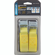 ProSource FH64055-1 Light Duty Lashing Strap 200 Pound 13 Foot L By 1 Inch Polyester 2 Pack