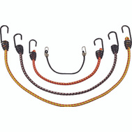 ProSource FH64078 Mintcraft Braided Stretch Stretch Cord Set Metal PE Ends 6 Piece