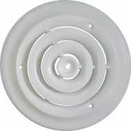 WorldWide Sourcing SRSD06 Diffuser Ceiling Round 6In Wht