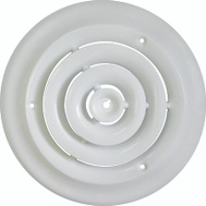 WorldWide Sourcing SRSD08 Diffuser Ceiling Round 8In Wht