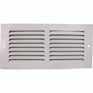 WorldWide Sourcing 1RA1004 Grill Return Air 10X4in Wht