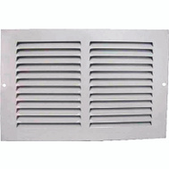WorldWide Sourcing 1RA1006 Return Grille White 10 By 6 Inch