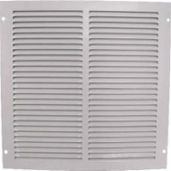 WorldWide Sourcing 1RA1212 Grill Return Air 12X12in Wht