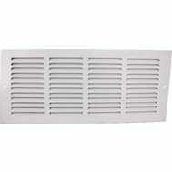 WorldWide Sourcing 1RA1818 Grill Return Air 18X18in Wht