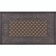 HomeBasix DM-183002 Door Mats Walnut 18 Inch By 30 Inch