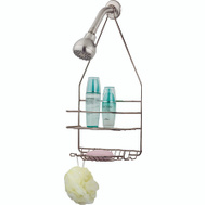 HomeBasix SS-SC-25-NK Shower Caddy Satin Nickel