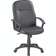 HomeBasix CYE43 Office Chair With Poly Arm Black