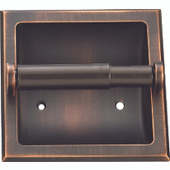Boston Harbor 776H-35-07-SOU Manhattan Recessed Toilet Paper Holder Venetian Bronze