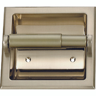 Boston Harbor 776H-07-SOU Manhattan Recessed Toilet Paper Holder Brushed Nickel