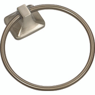 Boston Harbor 3660-07-SOU Manhattan Towel Ring Brushed Nickel