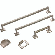 Boston Harbor 07-SOU-BN Manhattan Bath Hardware Set 5 Piece Brushed Nickel