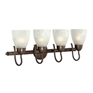 Boston Harbor V83NK04-VB 4 Arm Vanity Light Fixture Venetian Bronze