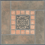 ProSource CL3267 Vinyl Floor Tile Slate Inlay (Carton Of 45)