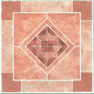 ProSource CL2071 Vinyl Floor Tile Diamond Stone (Carton Of 45)