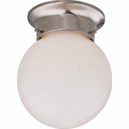 Boston Harbor F3BB01-3375-BN Fixture Ceil 1Lt Flush Opal Bn