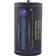 Power Zone LR14-4P-DB Battery Alkaline Card/4 1.5v C