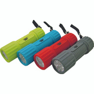 Power Zone FT-ORG18 Flashlight 6Led Disply/12 3Aaa