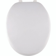 ProSource ES001-WH Toilet Seat Elongated Soft White