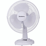 Power Zone FT-30 Fan Oscillating 3-Speed 12In