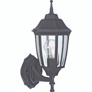 Boston Harbor DTDRB Single Light Outdoor Wall Lantern Dusk To Dawn Rust Brown