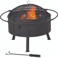 Seasonal Trends FT-112 Outdoor Firepit 32 Inch Round