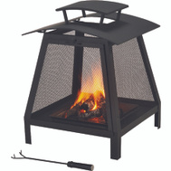 Seasonal Trends FP-102 Fireplace Outdoor 21-3/4 In