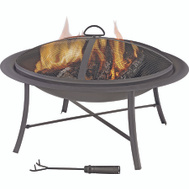 Seasonal Trends FT-095 Firepit Outdoor 26 Inch Round