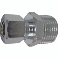 WorldWide Sourcing PMB-260LFB Connector Strt 1/2Mipx3/8Od