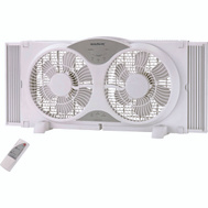 Power Zone BP2-9A Window Fan 9 Inch Reversible White