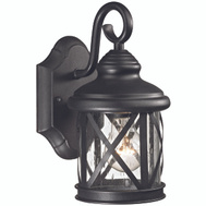 Boston Harbor LT-H01 Lantern Outdoor Wall Light Black