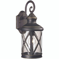 Boston Harbor LT-H04 Lantern Outdr Wall Orb 1 Light