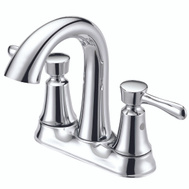 Boston Harbor F51B0035CP Faucet Lav 4In 2Hndl Lever Chr
