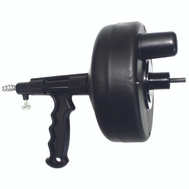 ProSource DA00003C-15 Drum Auger For Drill 1/4 Inch By 15 Foot Black