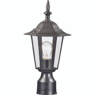 Boston Harbor AL8044-BK Light Post Lantern Med Black