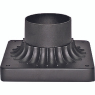 Boston Harbor DG-P01BL Mount Light Pier 15in Mat Blk