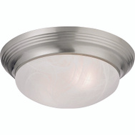 Boston Harbor 563116BN Light Deco 2Lt Flushmount Bnic