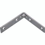 ProSource CB-B01-C4PS Corner Braces 1 By 1/2 Inch Zinc Plated Steel 4 Pack