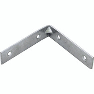 ProSource CB-B04-C4PS Corner Braces 4 By 7/8 Inch Zinc Plated Steel 4 Pack