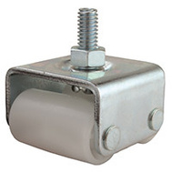 ProSource JC-A01-PS Dual Wheel Threaded Appliance Caster 7/8 By 2 Inch 4 Pack